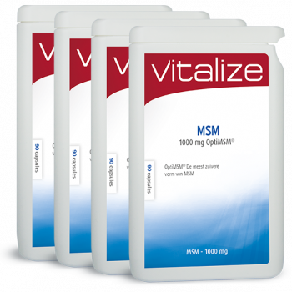 MSM 1000 mg OptiMSM® 360 capsules