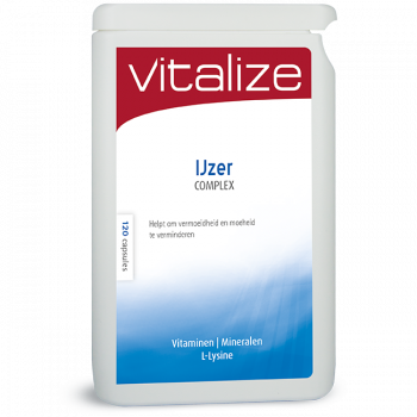 Vitalize IJzer Complex 120 capsules brievenbusverpakking