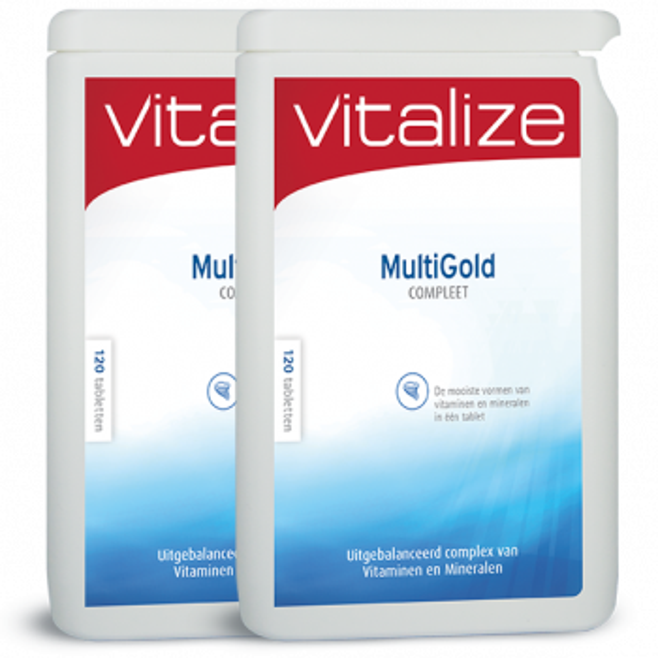 Vitalize MultiGold Compleet 240 tabletten