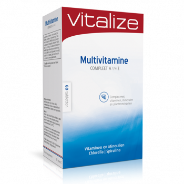 Vitalize Multivitamine Compleet A t/m Z 60 tabletten